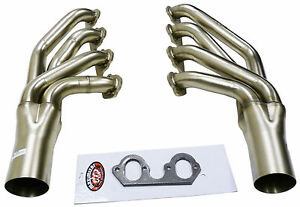 Maximizer Hp Turbo Exhaust Header Manifold For Ford 460 Big Block Down Forward