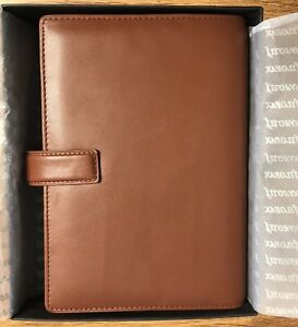 Filofax Bromley Deluxe Smooth Leather Chestnut Brown Personal Organizer New Nib