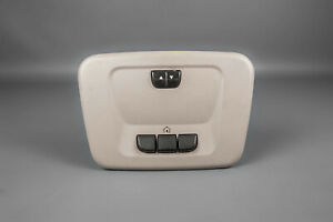 2006 16 Chevrolet Impala Overhead Console Sunroof Switch Homelink