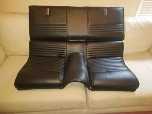 1967 Mustang Fastback Gt Gta Shelby Deluxe Rear Upper And Lower Seat Cushion