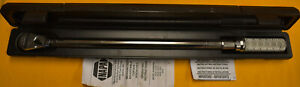 Napa 1 2 Drive Torque Wrench Professional Series Model 4220 In Case W instruc
