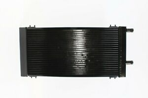 Plm Universal Aluminum Liquid Heat Exchanger Air To Water Intercooler Black