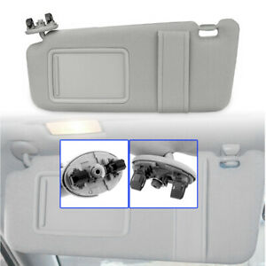 Sun Visor Sunshade For 2007 2011 Toyota Camry Drivers Side Without Sunroof