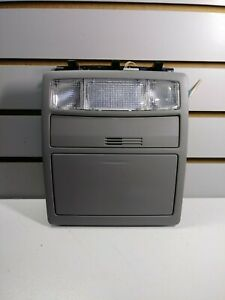 2009 Toyota Camry Overhead Console Map Lights Storage