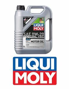 Liqui Moly Special Tech Engine Oil 0w 20 Synthetic 5 Liter 2208