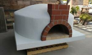 53 Wood Fired Pizza Oven Insulated Fire Brick Oven