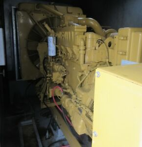 350 Kw Caterpillar Diesel Generator Cat 3406 Load Bank Tested
