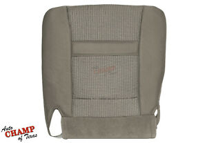 2006 2009 Dodge Ram 2500 3500 Slt driver Side Bottom Cloth Seat Cover Khaki Tan