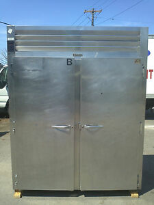Traulsen Rri232lut Stainless Steel Two Section Roll In Refrigerator