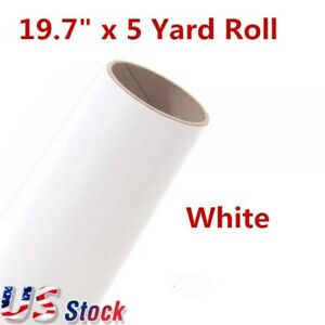 Us Stock 19 7 X 5 Yard Roll Pu Non sticky Digital Cutting Heat Transfer Vinyl