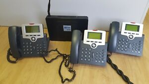 Xblue X 25 Voip Phone System With 3 X 2020 Phones