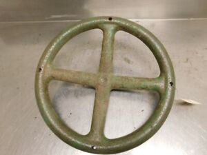 John Deere D Tractor Cast Iron Steering Wheel D61r 13957