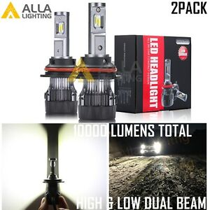 Alla Lighting 9007 Led Hd Light Bulb Luxury White Get Noticed 5 Star Review