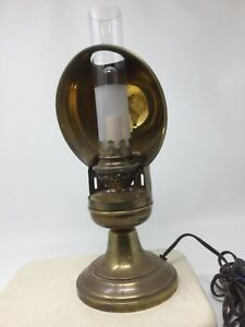 Antique Lamp Electrified