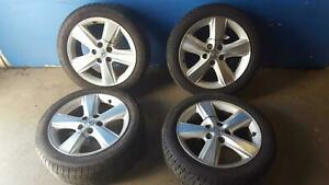 10 11 Toyota Camry 17x7 5 Spoke Alloy Wheels And Tires Set Of 4 69566