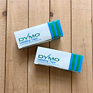 13 Rolls Dymo 1 2 X 12 Ft Red Green Labeler Tapes 358 Old Stock Vintage 70s