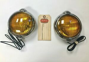 1949 1955 Dodge Plymouth Chrysler Desoto Mopar Accessory 6 Volt Fog Lights