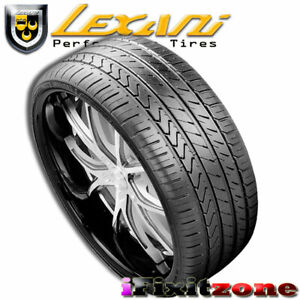 1 Lexani Lx Twenty 245 35r20 95w Xl Ultra High Performance Tire 245 35 20 New