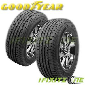 2 Goodyear Fortera Hl P245 70r17 108t Performance Tires