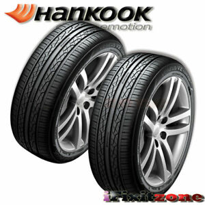 2 New Hankook H457 Ventus V2 Concept2 215 45r17 91v All Season Performance Tires