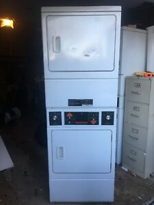 Double Stack Dryer Service Control Panel For Speed Queen P n 504590 Used