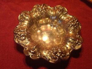Reed Barton Sterling Silver Bowl X569 Francis I 11 2 Ounces