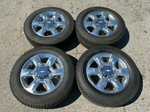 20 2019 Chevy Silverado 2500 Wheels Rims Tires Factory Original Gmc Sierra 3500