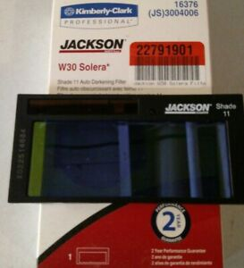 new Jackson Huntsman Shade 11 W30 Solera Auto Darkening Welding Filter Lens