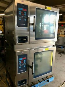 2015 Alto Shaam Ctc7 20g Double Stack Combi Steam Convection Oven Natural Gas