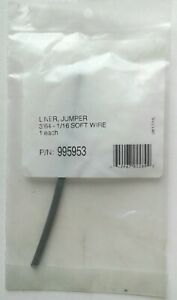 New Liner Jumper 3 64 1 16 Soft Wire 995953 In Sealed Package Free Shipping