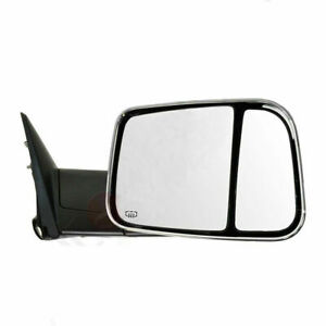 For 98 01 Dodge Ram 1500 98 02 Ram 2500 3500 Chrome Power Heated Towing Mirrors