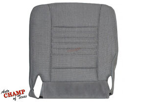 2007 Dodge Ram 3500 Work Truck Base St driver Side Bottom Cloth Seat Cover Gray