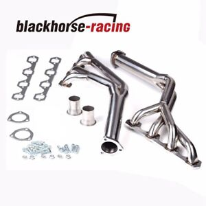 Tri Y Stainless Steel Exhaust Headers Fit Ford 260 289 302 351w Mustang 64 70