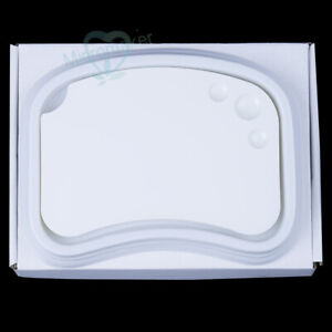 1pc Dental Lab Ceramic Palette Porcelain Mixing Watering Plate Wet Tray New