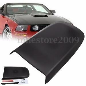 Car Front Hood Scoop Bonnet Vent Cover For Ford Mustang Gt V8 2005 2009 Black