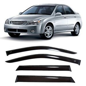 For Kia Cerato L Sd 2003 2008 Window Side Visors Sun Rain Guard Vent Deflectors
