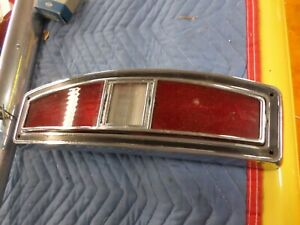 1970 1971 Ford Torino Ranchero Tail Light Assembly Driver Quality