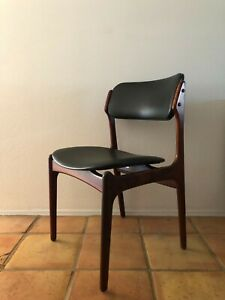 Vintage Danish Model 49 Rosewood Dining Chair By Erik Buch Buch Mobler