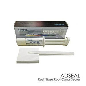 Meta Adseal Resin Base Root Canal Sealer With Mixing Plate Spatula