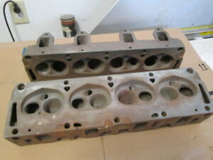 Fe Ford 406 Cylinder Heads C2se 6090 c Small Chamber 427side Oiler 428 390