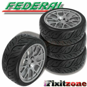4 Federal 595rs Rr 225 45zr17 94w Extreme Performance Sport Racing Summer Tire