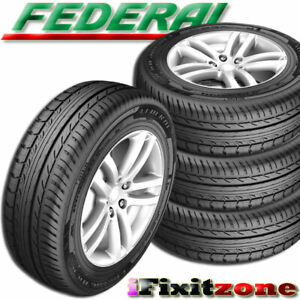 4 New Federal Formoza Az01 205 55r15 88v All Season Traction Performance Tires