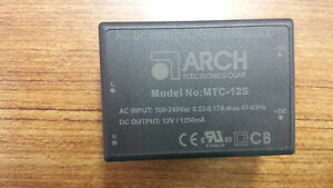 Arch Ac dc Medical Power Module Mtc 12s Ac In 100 240vac Dc Out 12v