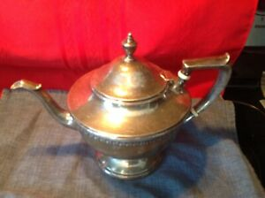Graylock Sterling Silver Tea Coffee Pot 20 9 2 Pints Approximately 7 5 High