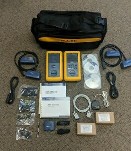 New Fluke Dsp 4300 an Digital Cable Analyzer Tester With Dsp 4300sr Smart Remote