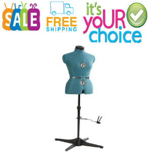 Female Adjustable Sewing Dress Form Fashion Dressmaker Mannequin Stand Small New
