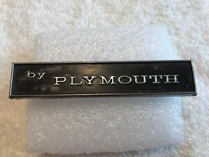 1971 1972 1973 1974 Plymouth Barracuda Tail Panel by Plymouth Emblem Oem