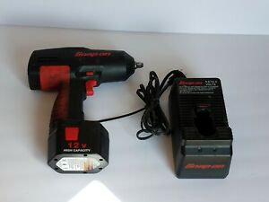 Snap On Ct310 3 8 Drive 12v Cordless Impact Wrench With Battery And Charger P22