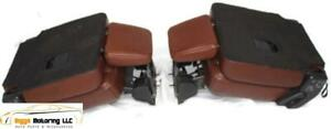07 17 Ford Expedition King Ranch 2nd Row 2 X Bucket Seats Leather Tan