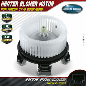 Hvac Blower Heater Motor With Fan Cage For Mazda Cx 9 2007 2015 3 7l 3 5l 700289